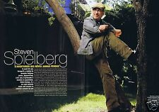 Coupure de presse Clipping 2008 Steven Spielberg  (4 pages)