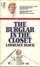 THE BURGLAR IN THE CLOSET Lawrence Block - Humorous Mystery - BERNIE RHODENBARR