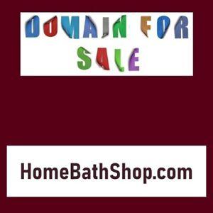 HomeBathShop .com / NR Domain Name Auction / Home Interior Remodeling / Namesilo
