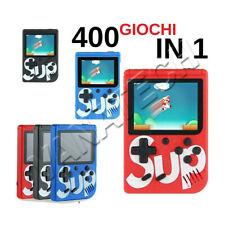 CONSOLE PORTATILE 8 BIT 400 GIOCHI VIDEOGIOCO DISPLAY LCD VIDEO GAME BOY GIRL