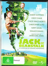 JACK AND THE BEANSTALK DVD=CHEVY CHASE=REGION 4 AUSTRALIAN RELEASE=LIKE NEW