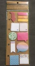 NIP RECOLLECTIONS MINI STICKY NOTES 12 DESIGNS 20 SHEETS EACH JOURNAL SCRAPBOOK