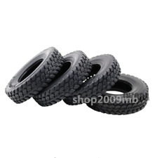 4X 1:14 Tamiya Rubber Tyre Tires For RC ClimbingTractor Truck Trailer Car Set