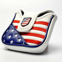 USA Square Mallet Putter Housse Golf Voile Pour TaylorMade Spider Tour Aimant
