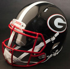 GEORGIA BULLDOGS NCAA Riddell SPEED Full Size Replica Football Helmet UGA