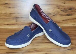 Sneaker Navy Mocc Ons Lindos mocasines estilo pantufla