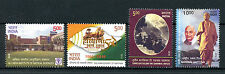 India 2016 MNH Inst Medical Science / Haryana / Unity Day / Rifles 4v Set Stamps