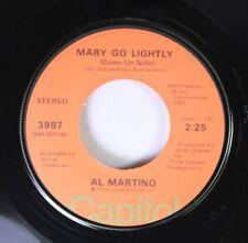 Pop 45 Al Martino - Mary Go Lightly (Como Un Nino) / To The Door Of The Sun (All