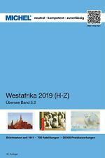 Michel Katalog 5.2 Westafrika '19 catalogus West-Afrika catalogue Western Africa