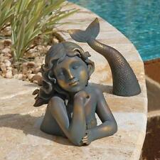 Enchanting Mermaid Aquatic Creature Pool Home Spa Sculpture