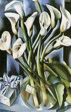 """Calla Lillies Tamara de Lempicka 11""""x14"""" canvas print"""