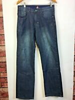 Mens Le Coq Sportif Jeans Grey Quality Denim Size 30R