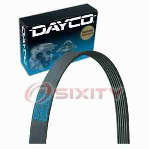 Dayco Main Drive Serpentine Belt for 2010 Chevrolet Camaro 3.6L V6 Accessory mu