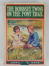 The Bobbsey Twins on the Pony Trail by Laura Lee Hope HCDJ Hardcover #37