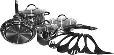 New Cuisinart Pro Classic 13-Piece Stainless-Steel Cookware Set Stainless Steel