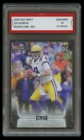JOE BURROW 2020/20 LEAF DRAFT 1ST GRADED 10 ROOKIE CARD RC NCAA/NFL LSU TIGERS