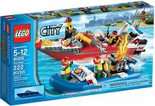 LEGO City Fire Boat (#60005)(Retired 2013)(Very Rare)(NEW)