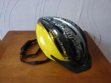 casque velo VTT marque OPTIM'ALP jaune noir T 56 62 leger 275 g