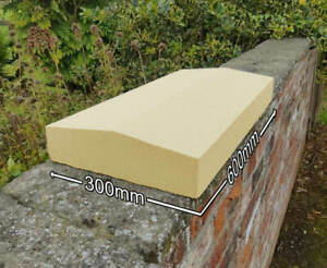 Apex Cast Stone Wall Copings Pier Caps Buff/Portland, 2 Sizes Available