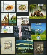 Slovenia 2019 ☀ Lot of new - Unused stamps & Blocks MNH**