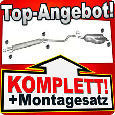 Auspuff OPEL ASTRA H 1.6 1.8 Schrägheck / GTC Auspuffanlage 878