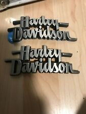 OEM Harley Dyna Softail & Others Gas Fuel Tank Emblems Medallions Badges