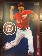 Max Scherzer Washington Nationals Fathead Tradeables - 5 x 7 Decal MLB 2018