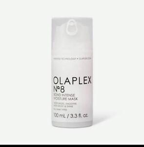 Olaplex No 8 Intense Moisture Mask 100mL 3.3fl. oz. Authentic Brand New & Sealed
