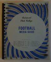 Vintage Football Media Press Guide Fairmont State University 1974