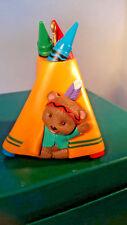 Hallmark Bright 'N' Sunny Tepee Crayola Crayon Collectors Series #7 1995 iOb