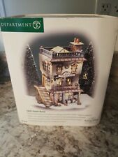 Department 56 Dickens Village Leed'S Oyster House w/ Original Box #56.58446