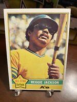 1976 Topps Reggie Jackson Oakland Athletics #500