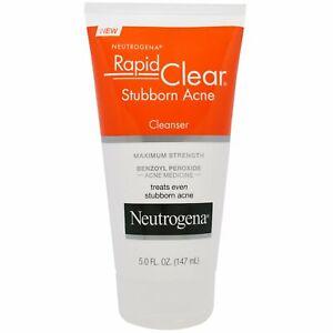 Rapid Clear, Stubborn Acne Cleanser, Maximum Strength, 5.0 fl oz (147 ml)