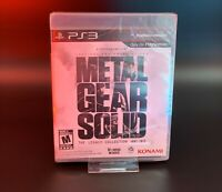 Metal Gear Solid: The Legacy Collection (PS3) BRAND NEW FACTORY SEALED