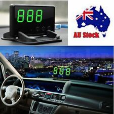 Universal GPS HUD Digital Car Speed Head Up Display Limit Warning Plug & Play AU