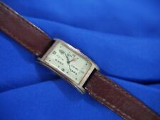TACTICS ORIENTAL BROWN BAND washed tones watch new battery RUNNING A10