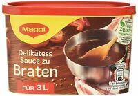 Maggi Delikatess Soße zum Braten, 3 l Dose 3er Pack