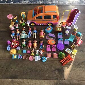 Dora & Friends Posable Dollhouse Figures Furniture Van & More Mattel