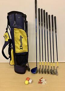 Dunlop Loco Kids Juniors Golf Set & Bag / Ages 9-11 / Right Handed