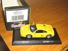 FERRARI 355 COUPE GIALLO SCALA 1/43 DETAIL CARS