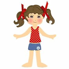 Sizzix Dress Ups Body large die #654972 Retail $14.99  LET'S PLAY DRESS UP!