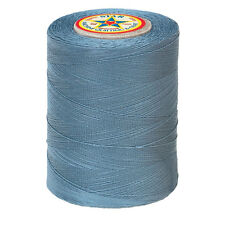#105A~STAR COTTON MACHINE QUILTING & SEWING THREAD~AZURE GRAY BLUE~30 WT