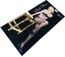 Marilyn Monroe Fishnet Beach Towel 100% Cotton 30x60 Inches Brand New