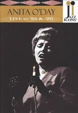 USED (VG) Jazz Icons: Anita O'Day Live in '63 & '70 (2009) (DVD)