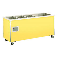 """Vollrath 36191 74""""W Signature Server Hot/Cold Food Station W/ Stainless Counter"""