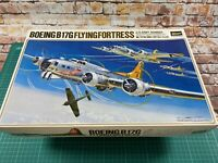 Hasegawa 1/72 K010-1500 Boeing B-17G Flying Fortress Model Kit Contents Sealed