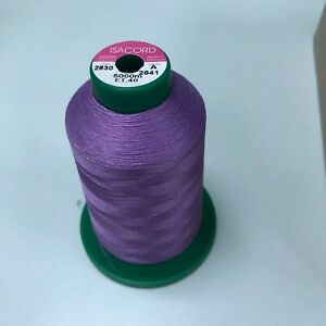 ISACORD PART USED 5000M THREADS - BARGAIN PRICE - VARIOUS COLOURS ISACORD THREAD