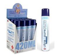 12 Cans- 420ml ULTRA PURE PLUS European Refill British BUTANE! 6824
