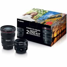 Canon Advanced Lens Kit - 50mm f/1.4 & 17-40mm f/4L