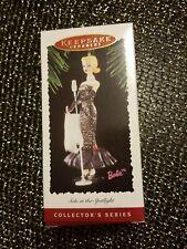 "1995 Hallmark Keepsake Ornament Barbie collector series ""Solo In The Spotlight"""